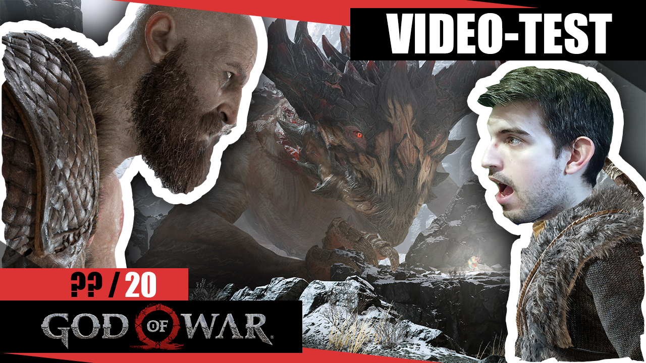 Test de God Of War (2018)  PS4 - Le jeu des dieux !