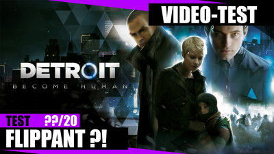 Test de Detroit : Become Human - Flippant, Intriguant et Magnifique !