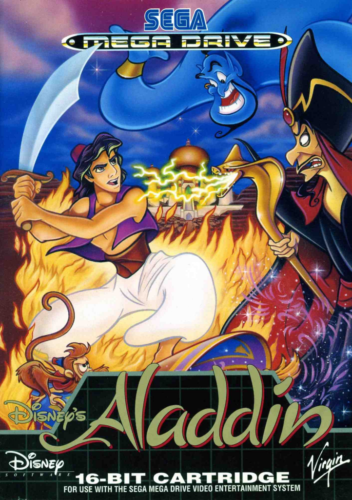 Video test #2 Aladdin sur megadrive !