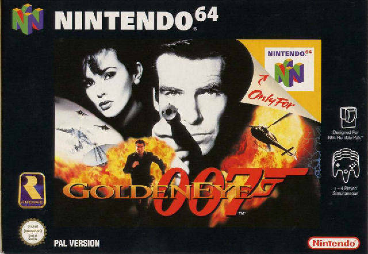 Video test #7 Goldeneye 64 !