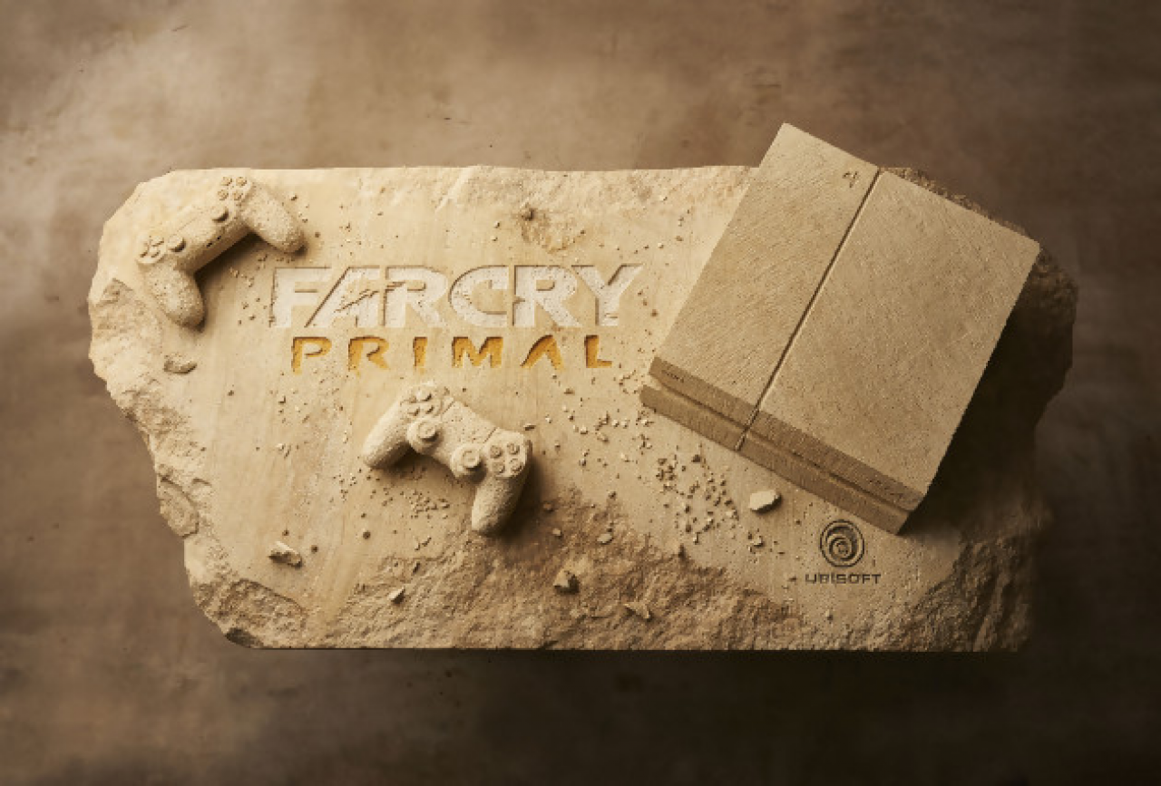 Sony et Ubisoft: Une PS4 à l'effigie de Far Cry Primal
