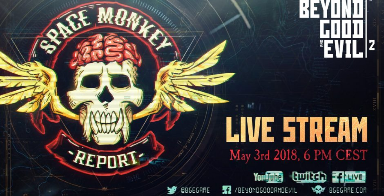 "Beyond Good and Evil 2 : Le ""Space Monkey Report #2"" dévoile du gameplay et insiste sur l'aspect coopération du jeu."