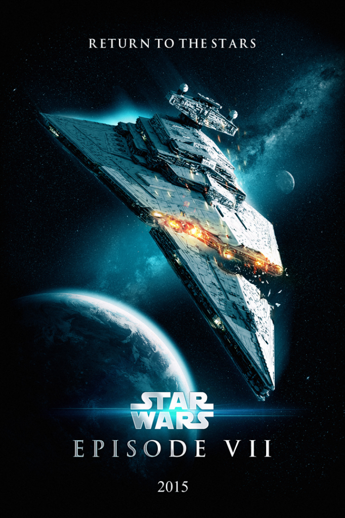 Affiche marrante Star Wars Episode 7