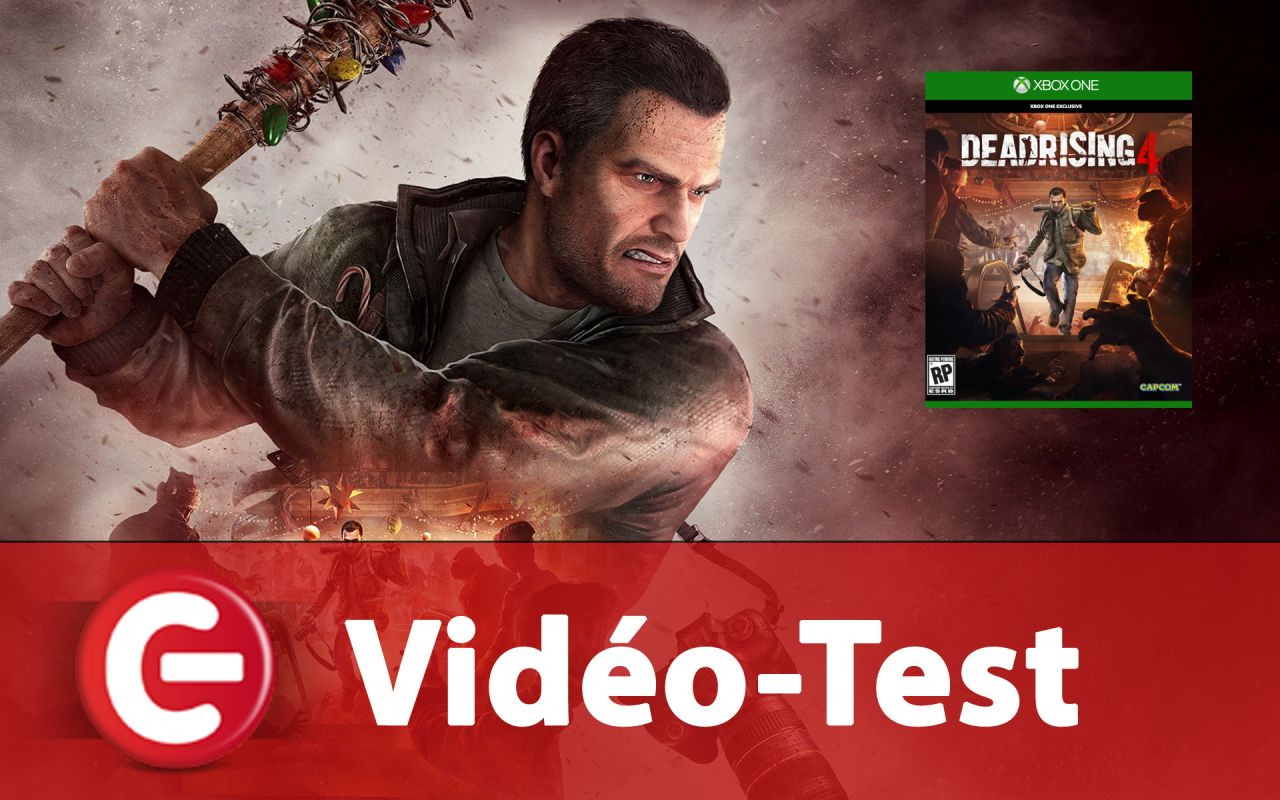 [Vidéo Test] Dead Rising 4 sur Xbox One & PC Windows 10