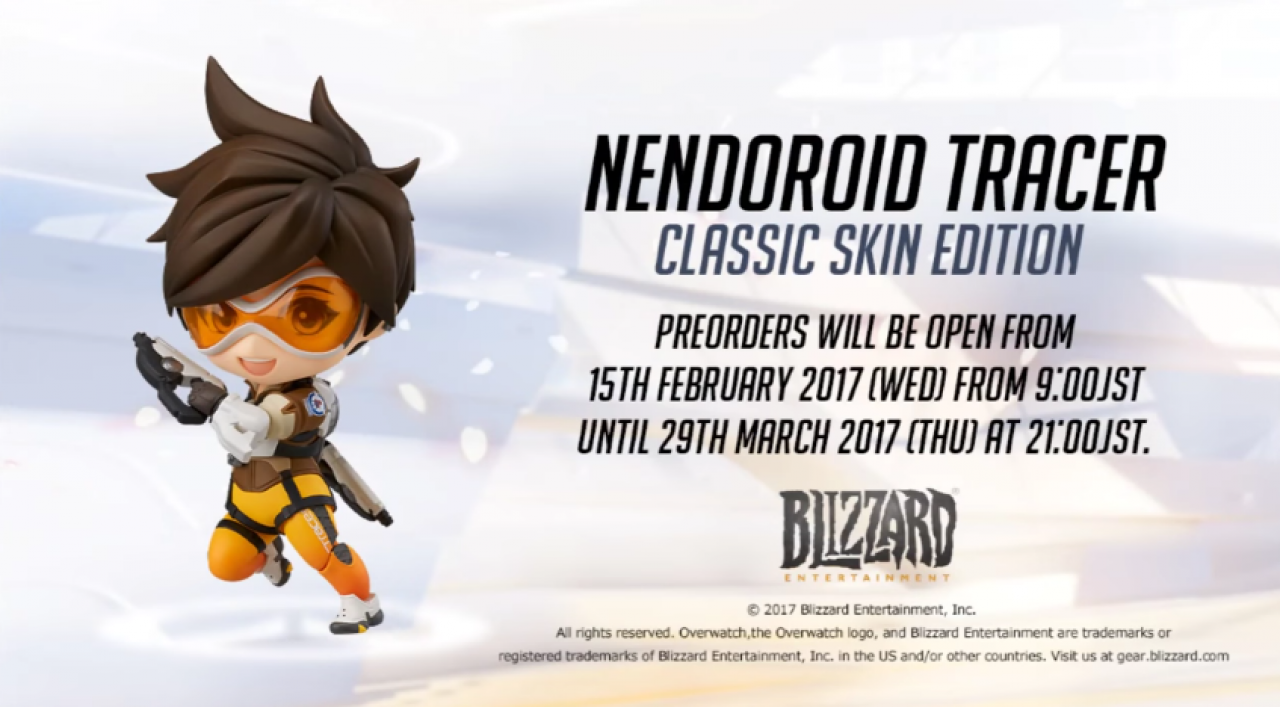 Figurine Tracer de Good Smile Company - Overwatch