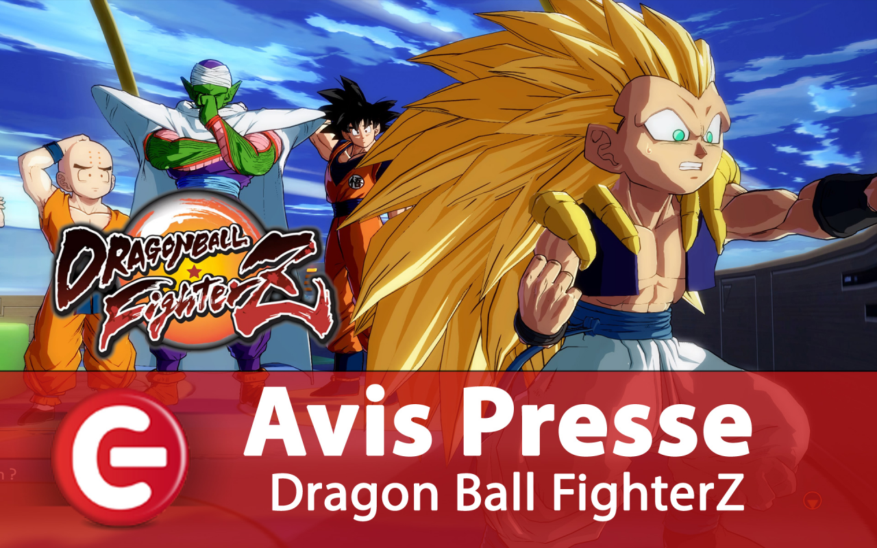 Dragon Ball FighterZ : L'avis de la presse française dans un 'Accolades trailer' !