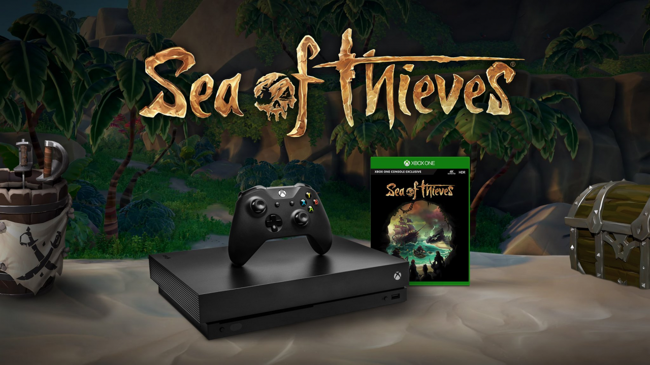 Bon Plan : Xbox One X + Sea of Thieves + PUBG à 499 euros (au lieu de 589...)