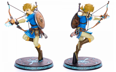 Figurine Zelda: Breath of the Wild - Link 25 cm à nouveau disponible