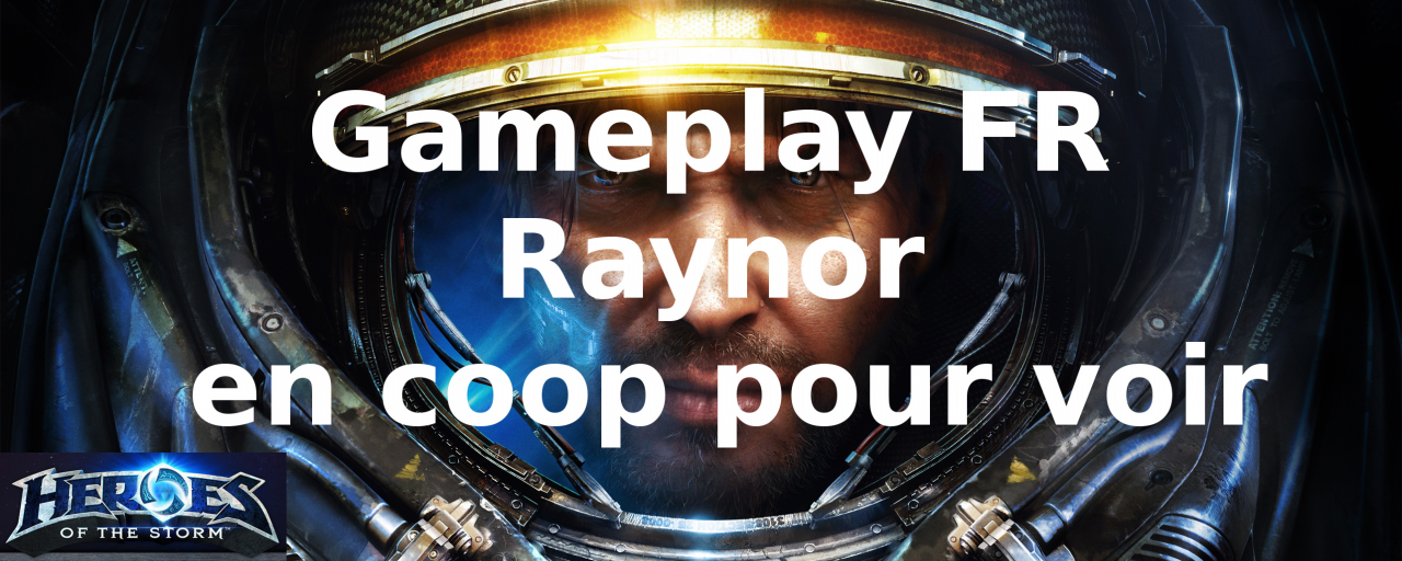 Heroes of the Storm - Raynor en coop pour voir