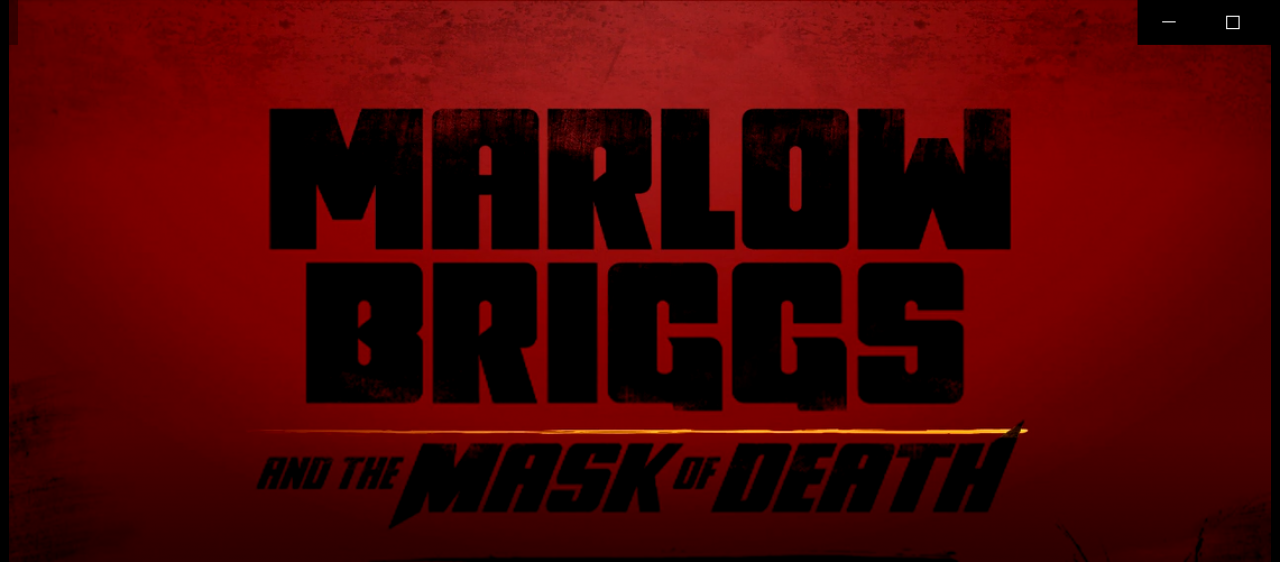 Vidéo-découverte: Marlow Briggs and the mask of Death