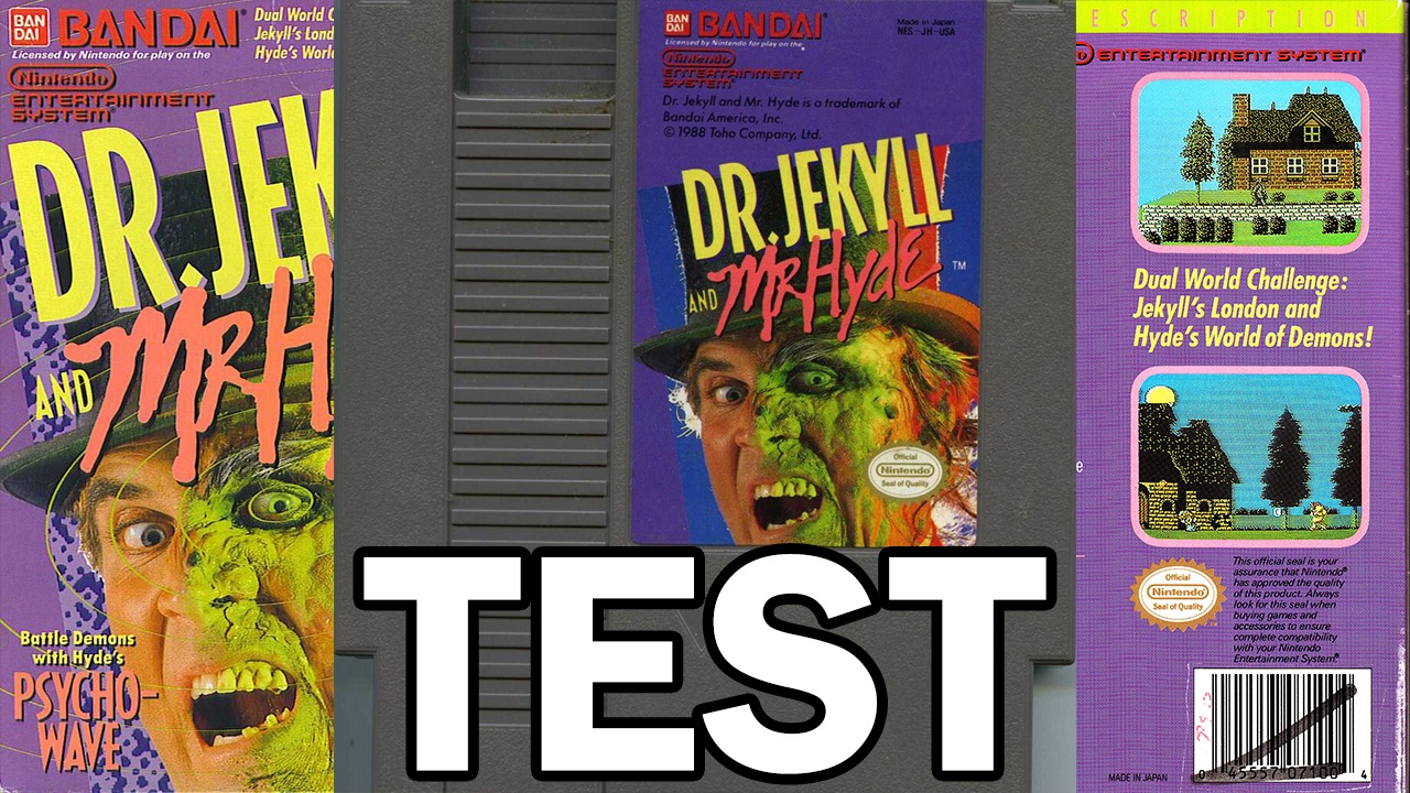Test Dr. Jekyll and Mr. Hyde (NES)