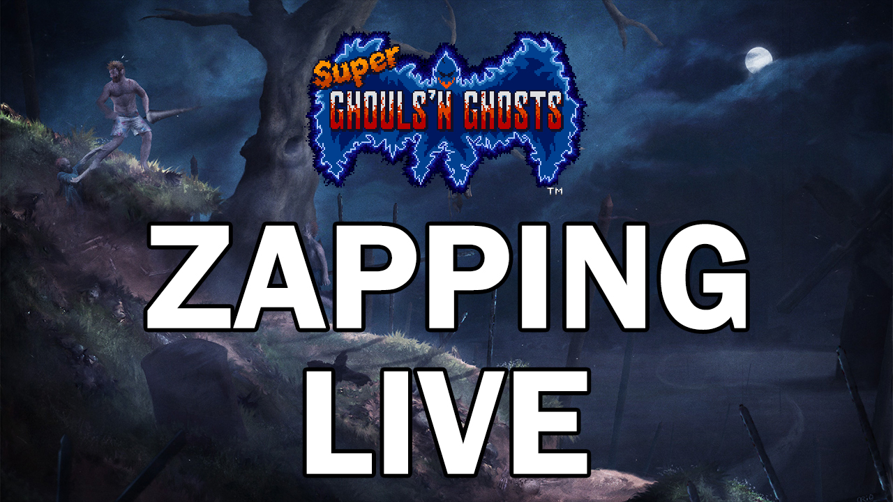 Zapping Super Ghouls'n Ghosts (SNES)