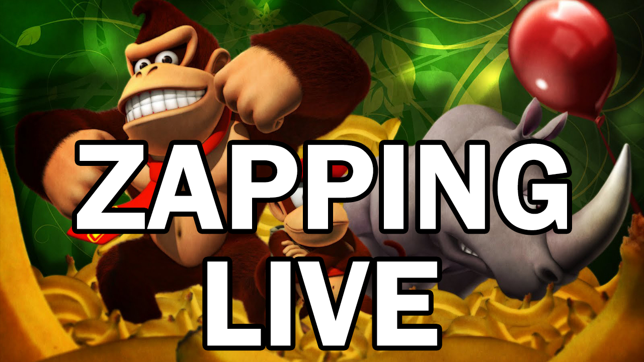 Zapping Donkey Kong Country (SNES)