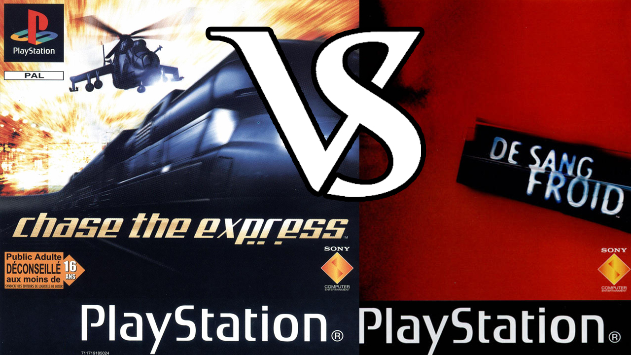 Test Chase the Express VS De Sang Froid (PS1)