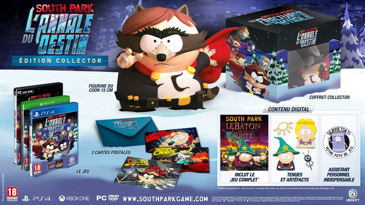 Bon Plan : South Park L'Annale du Destin - édition collector à 34,99 euros (au lieu de 99,99...)