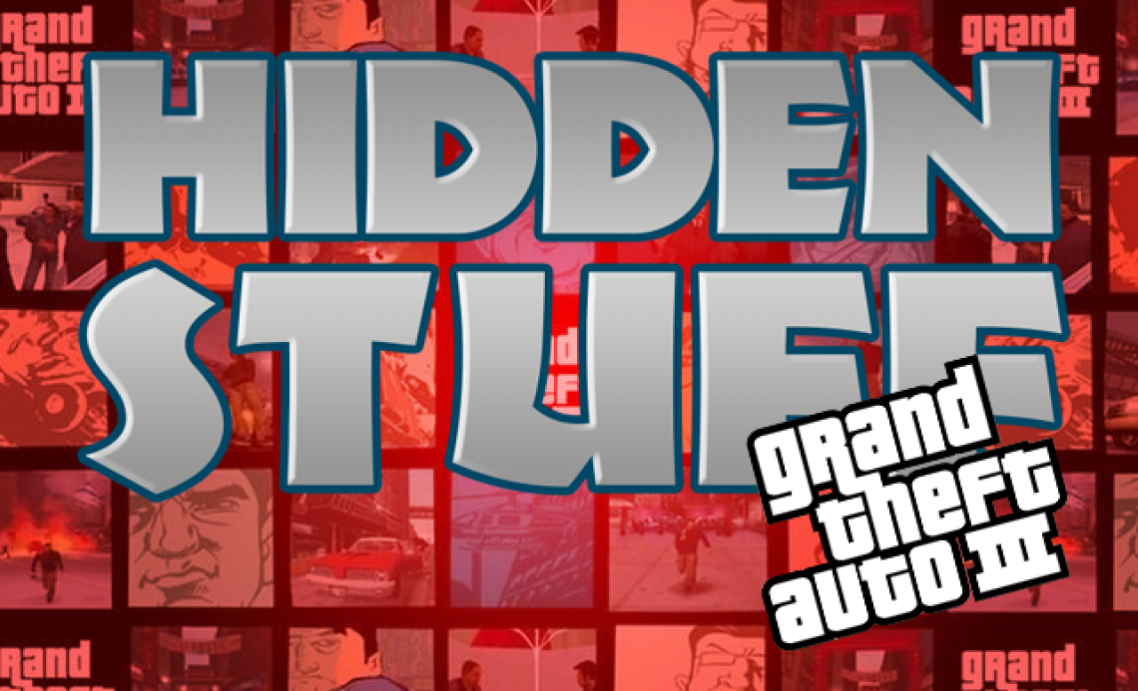 HIDDEN STUFF #1 - GRAND THEFT AUTO III