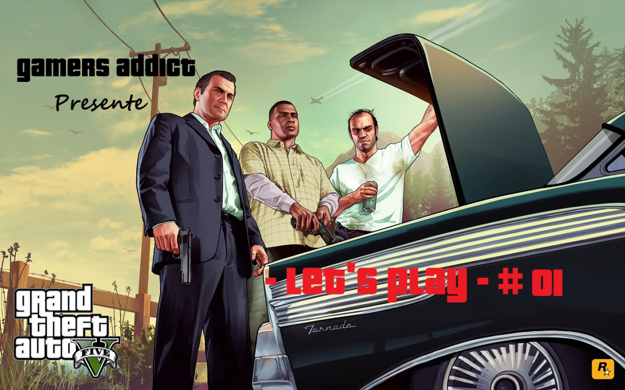Let\'s Play - GTA V - Part #001 -
