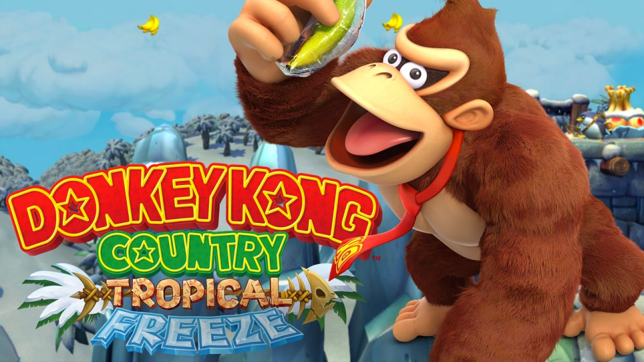 Donkey Kong Country - Tropical Freeze - [Wii U] - [Decouverte] - [Fr]