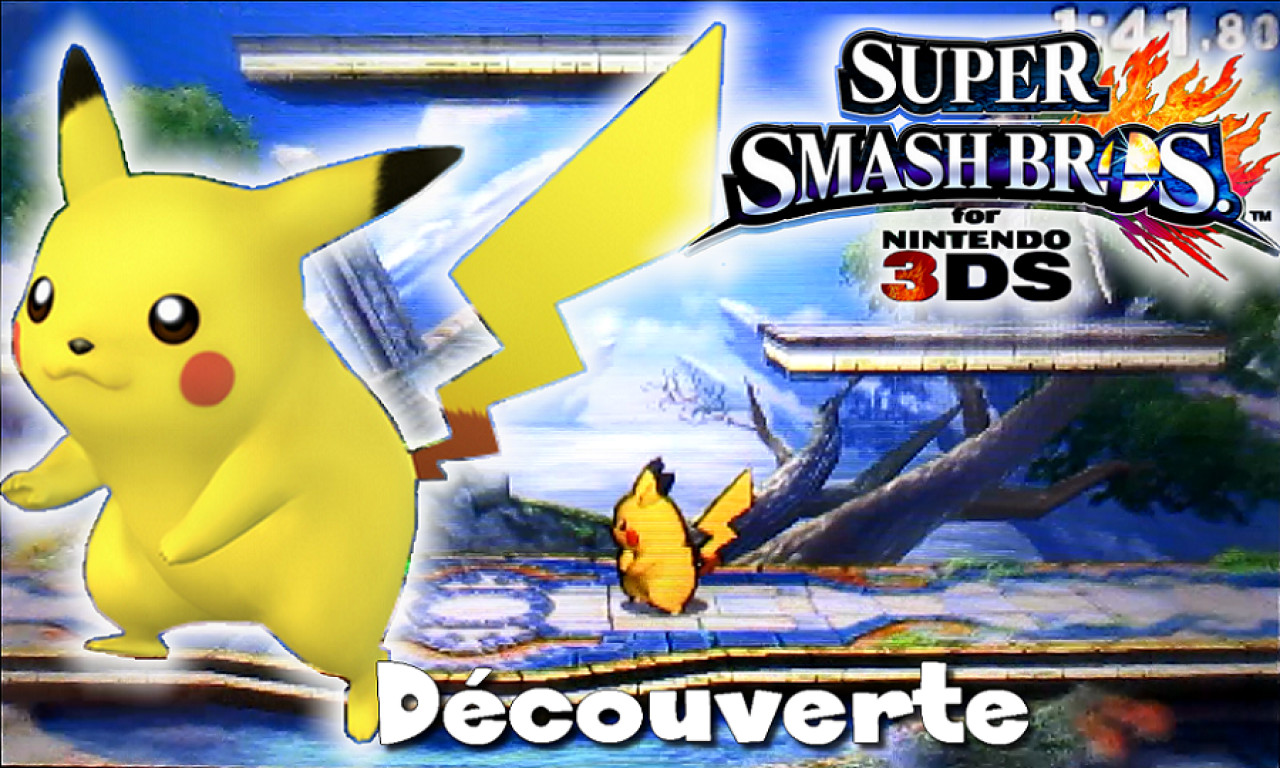 Setsky - Découverte de Super Smash Bros. 3DS