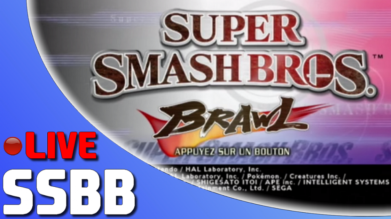 Setsky en live sur Super Smash Bros. Brawl
