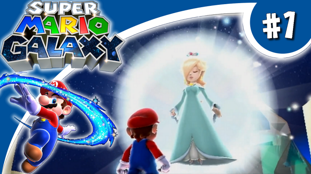Super Mario Galaxy - Let's Play #1 - Bienvenue dans la Galaxie !
