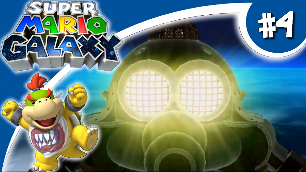Super Mario Galaxy - Let's Play #4 - L'Usine de robots