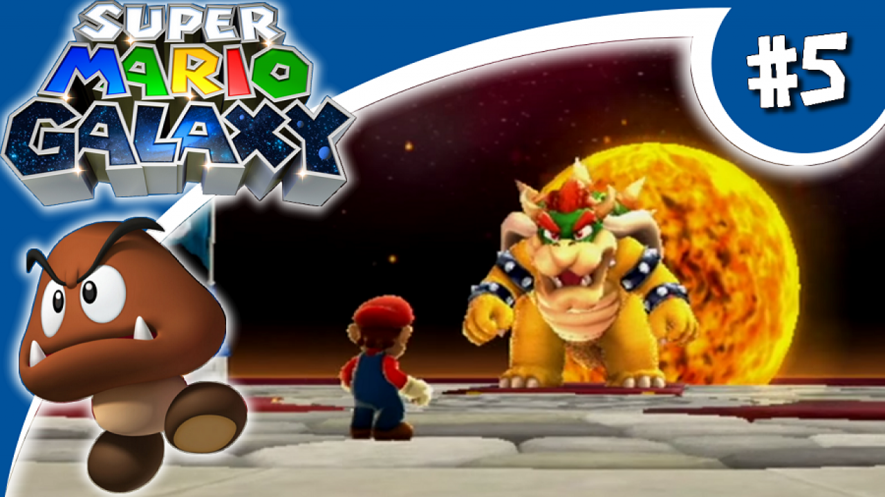 Super Mario Galaxy - Let's Play #5 - La forteresse de Bowser