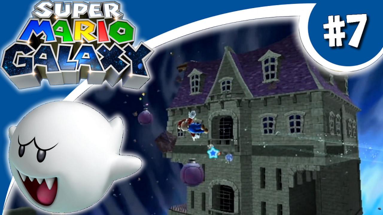 Super Mario Galaxy - Let's Play #7 - Le manoir hanté