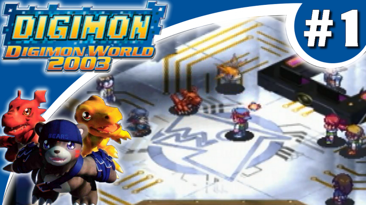 Digimon World 2003 - Let's Play #1 - Bienvenue sur Digimon Online
