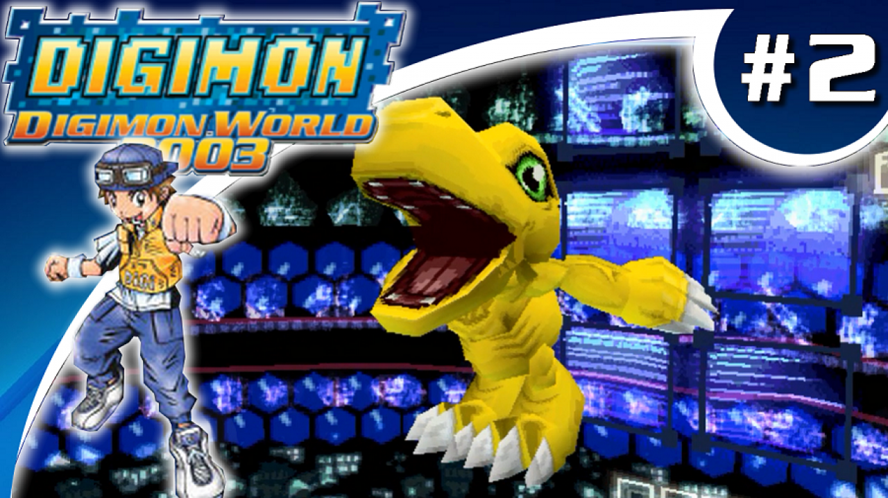 Digimon World 2003 - Let's Play #2 - Première Digivolution