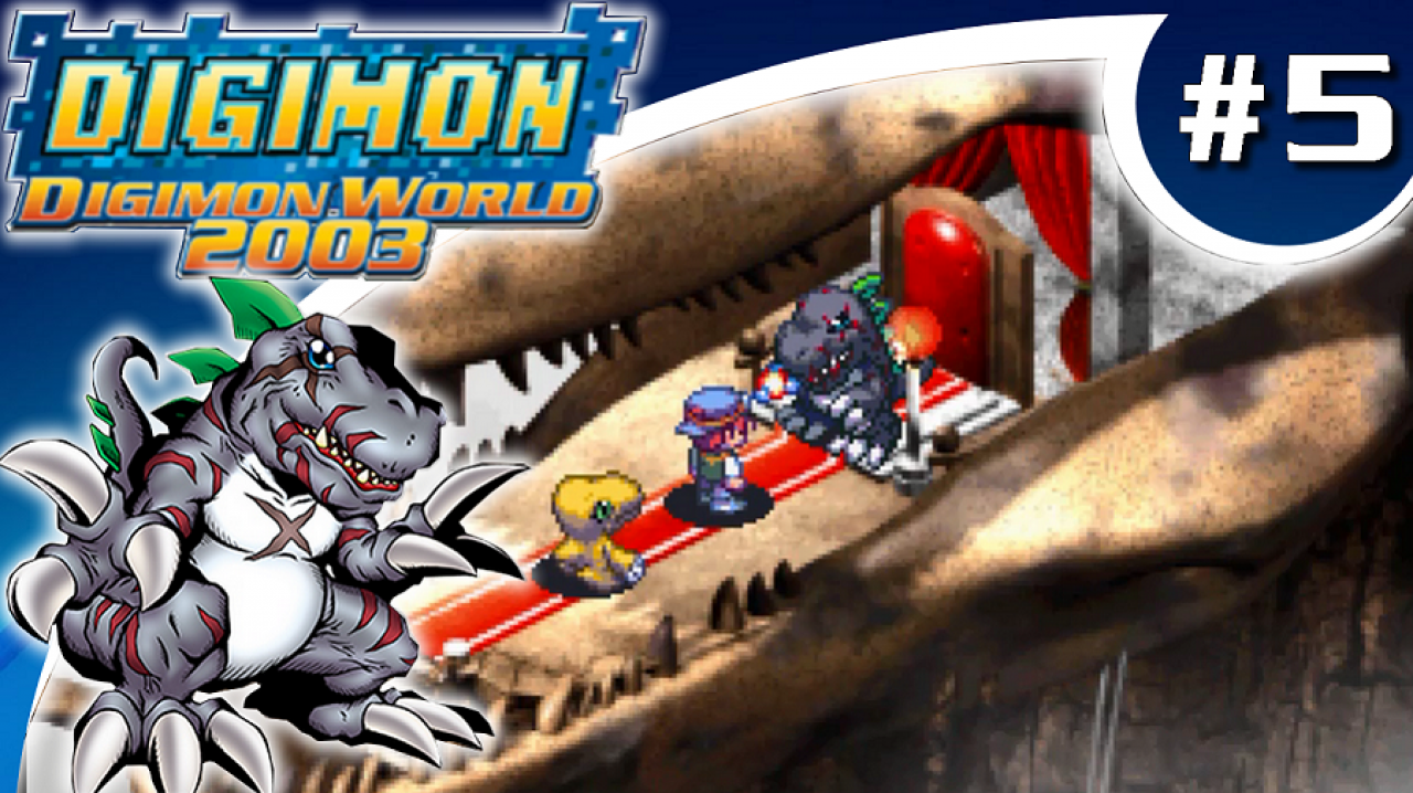 Digimon World 2003 - Let's Play #5 - MasterTyrannomon, le roi des reptiles