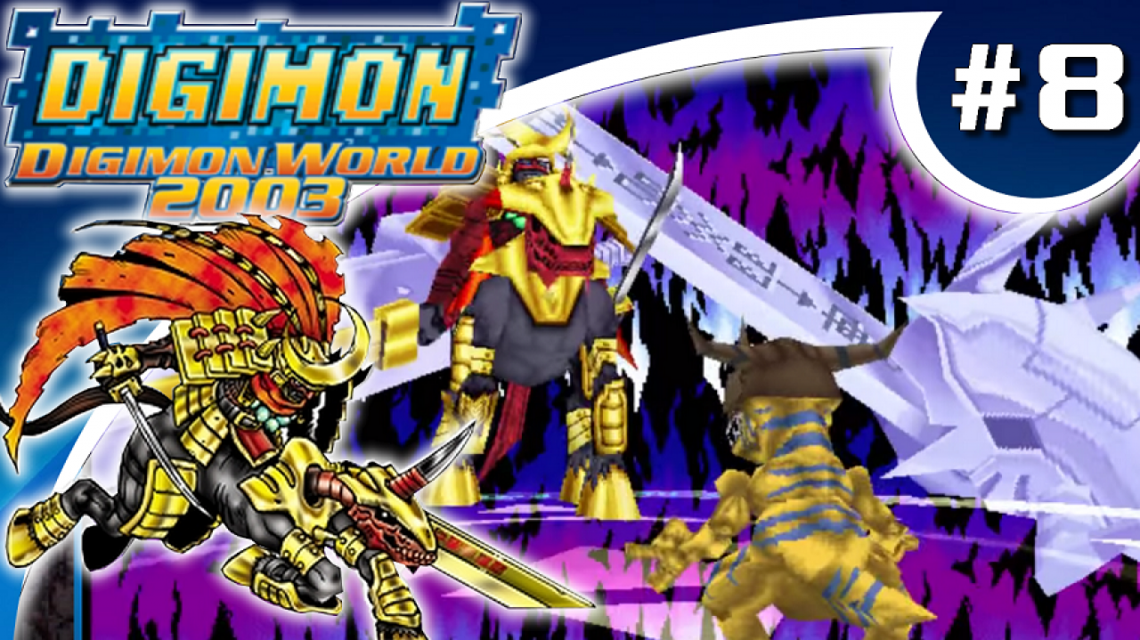 Digimon World 2003 - Let's Play #8 - Zanbamon et le masque de Sepikmon