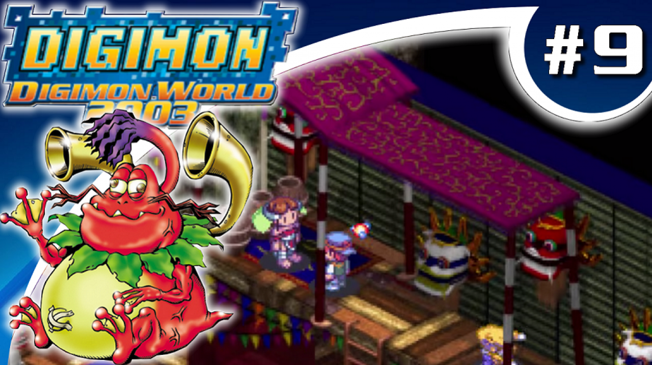 Digimon World 2003 - Let's Play #9 - La championne de Suzaku City