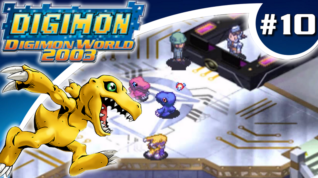 Digimon World 2003 - Let's Play #10 - Infiltration du Centre Administratif d'Asuka City