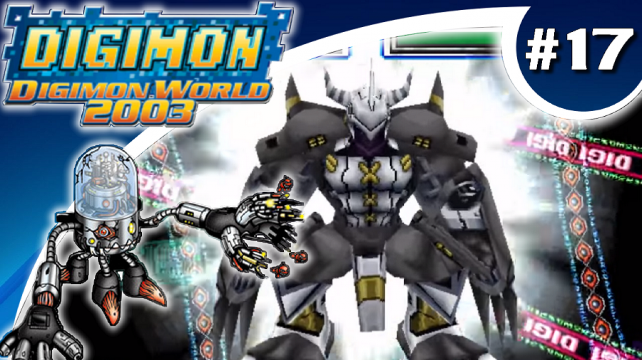 Digimon World 2003 - Let's Play #17 - Datamon, le gardien des égouts