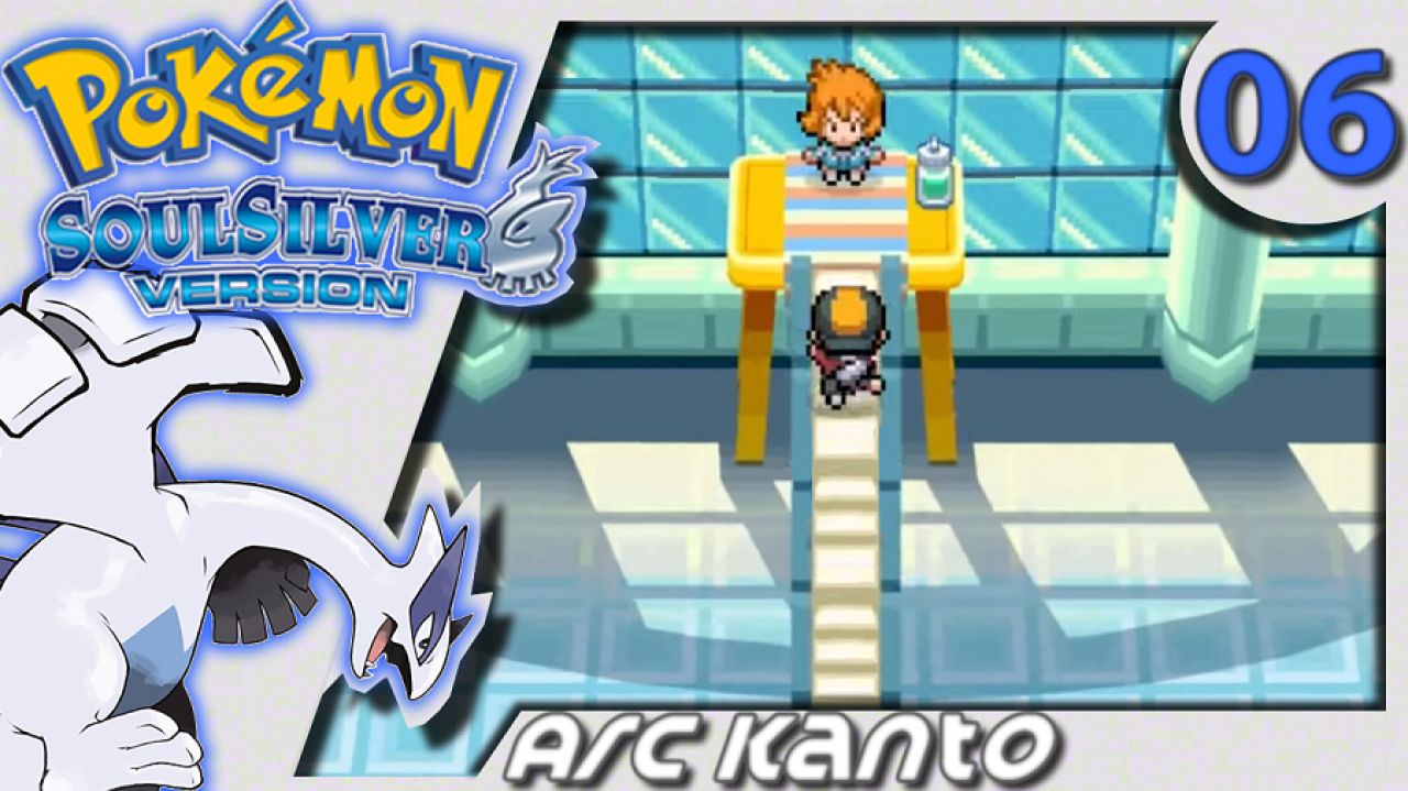 Pokémon Argent SoulSilver (Arc Kanto) - Let's Play #6 - Le badge d'Azuria