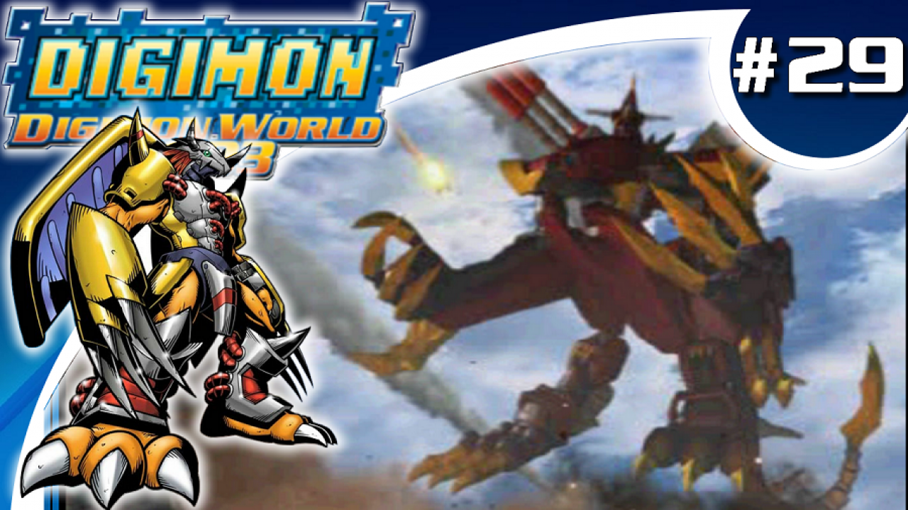 Digimon World 2003 - Let's Play #29 - L'incarnation de la terreur, Destromon !