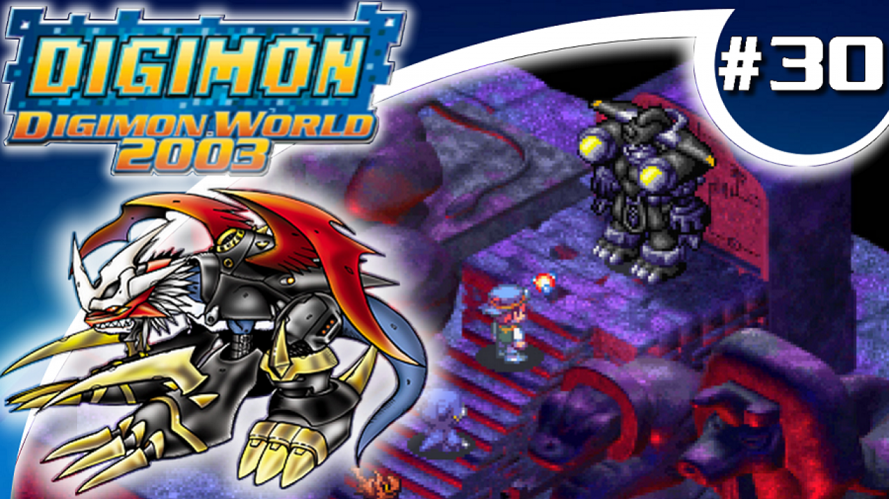 Digimon World 2003 - Let's Play #30 - Black MegaGargomon et Black Impérialdramon