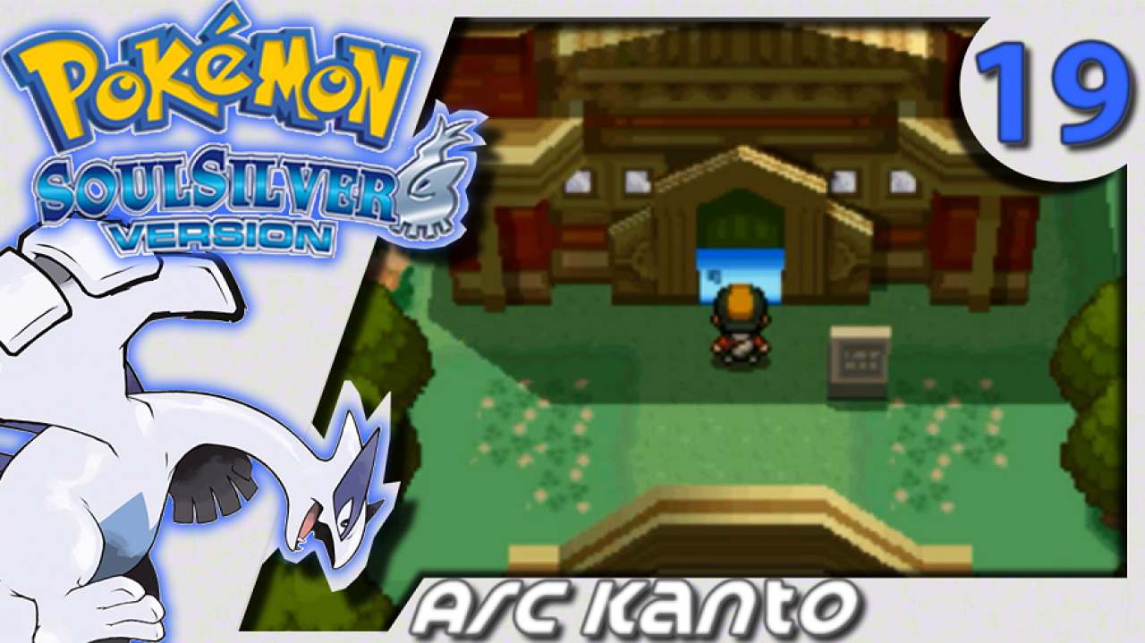 Pokémon Argent SoulSilver (Arc Kanto) - Let's Play #19 - La Ligue Pokémon