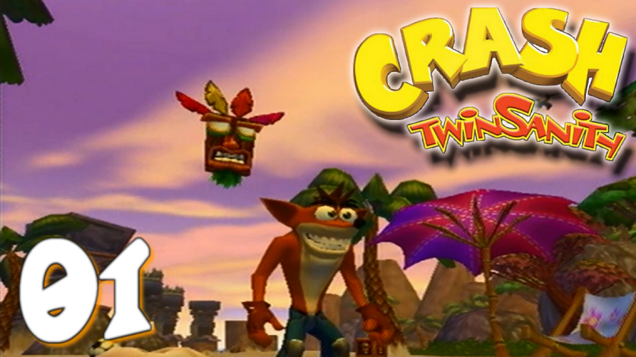 Crash Twinsanity - Let's Play #1 - L'aventure commence ! Cortex se travestit ?!