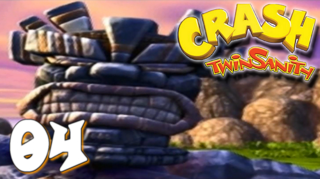 Crash Twinsanity - Let's Play #4 - Galères et Dieu Totem