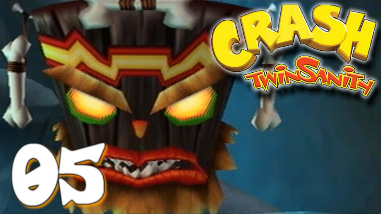 Crash Twinsanity - Let's Play #5 - Le retour d'Uka-Uka !
