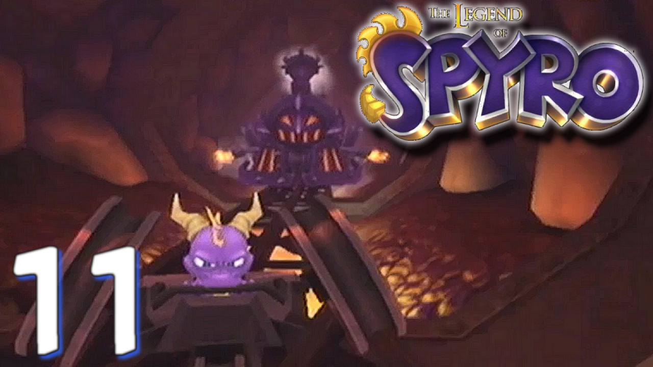 The Legend of Spyro: A New Beginning - Let's Play #11 - Course épique avec Caboose !