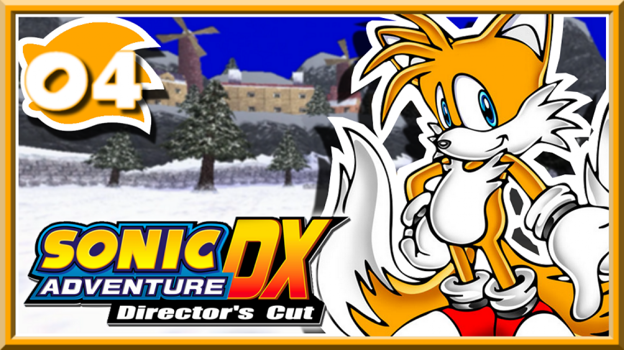 Sonic Adventure DX - Let's Play #4 - A l'assaut du Egg Carrier !!