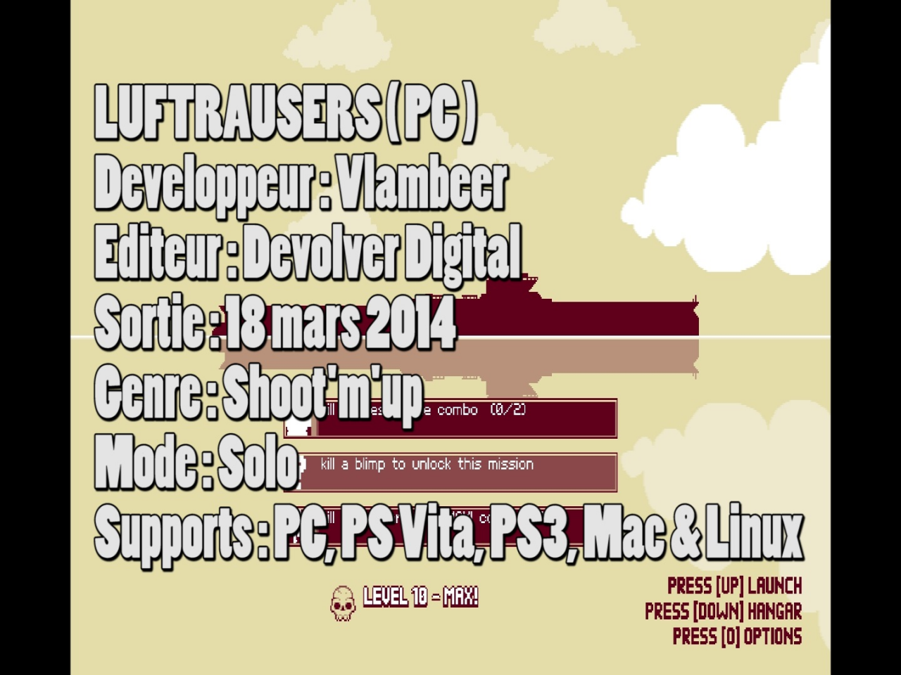 Luftrausers Let's play