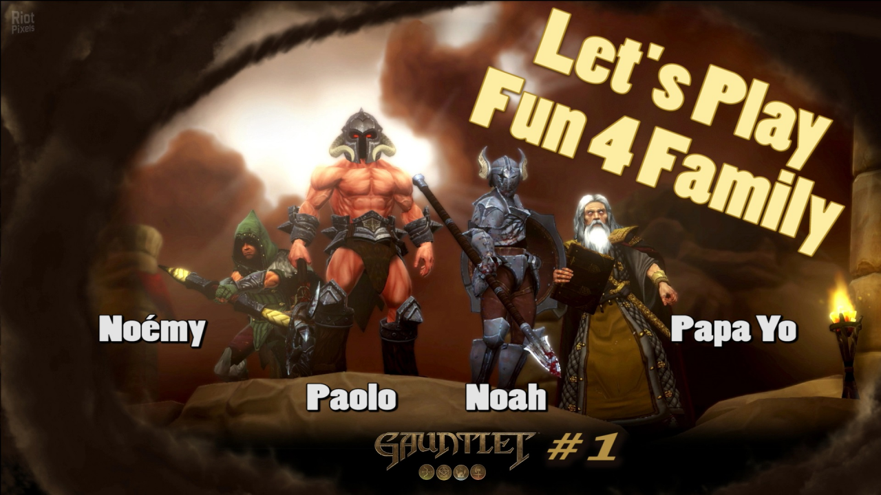 "Gauntlet Let's Play ""Fun 4 Family"""