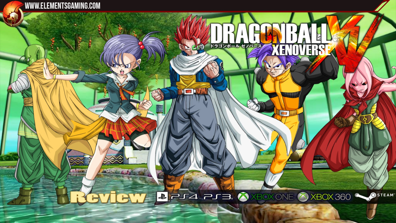 Dragon Ball Xenoverse, le vidéotest