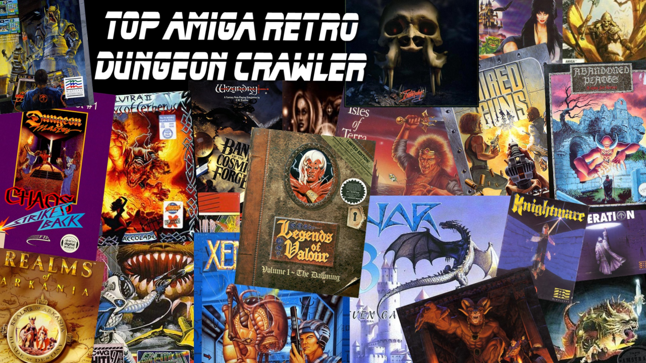 TOP AMIGA RETRO Dungeon Crawler