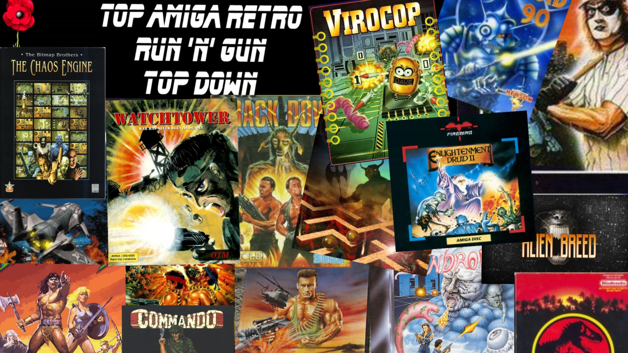 Top Amiga Retro [ Run 'n' Gun ]