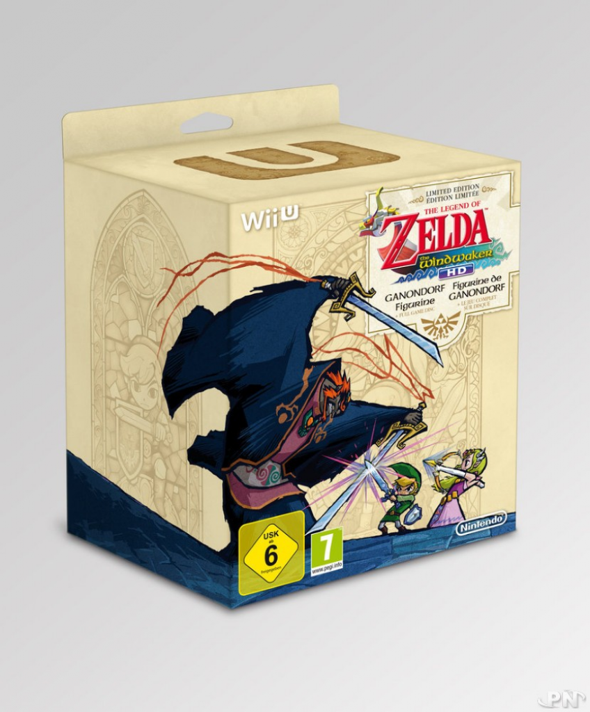 L'édition limitée de The legend of Zelda wind waker HD